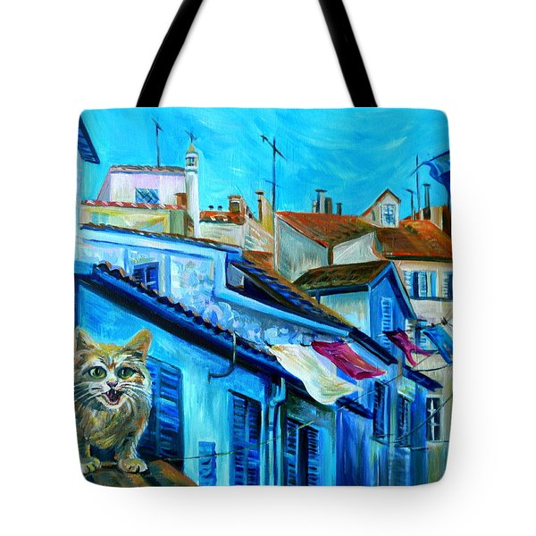 Travel Notebook. Nice. Vieille Ville Tote Bag