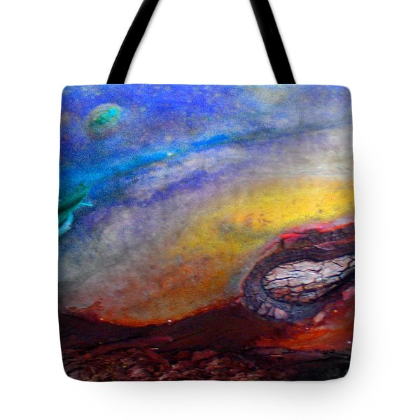 Tote Bag featuring the digital art Travel by Richard Laeton