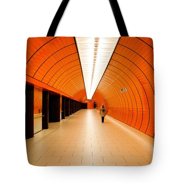 Traveler Tote Bag by Syed Aqueel