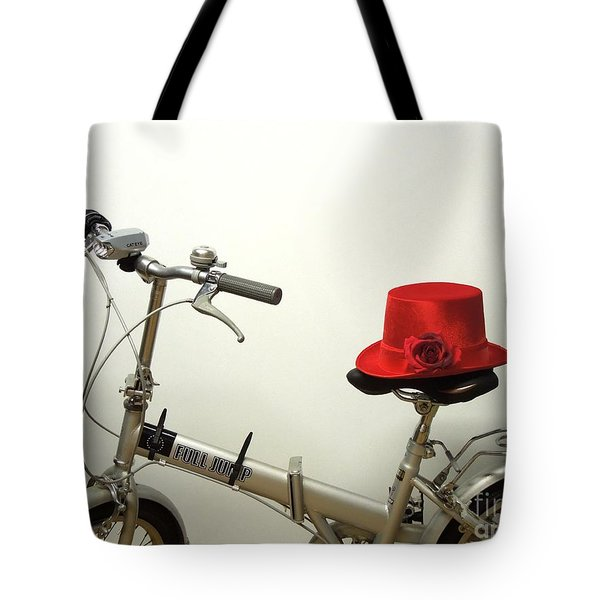 Traveling In Style Tote Bag by Renee Trenholm