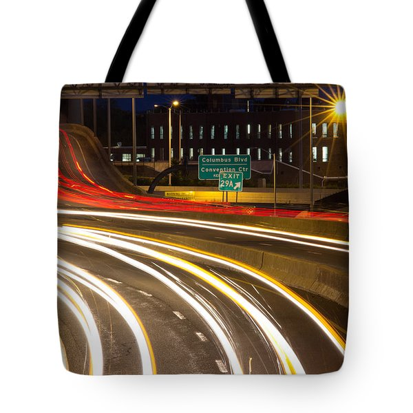 Traveling In Time Tote Bag