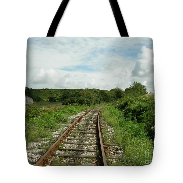 Traveling Towards One's Dream Tote Bag