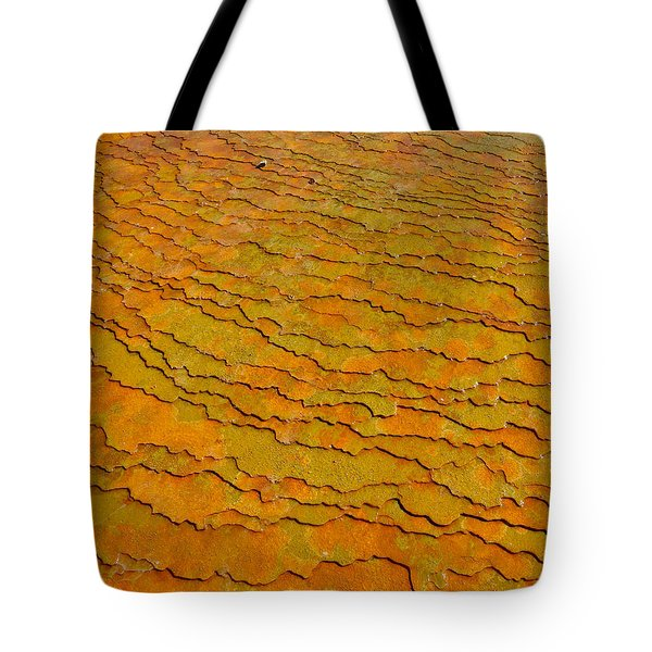 Travertine Jigsaw Tote Bag