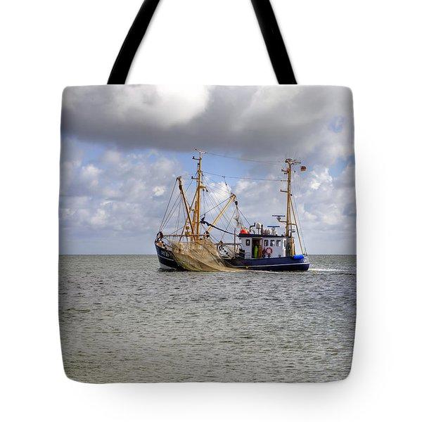 trawler - Sylt Tote Bag by Joana Kruse