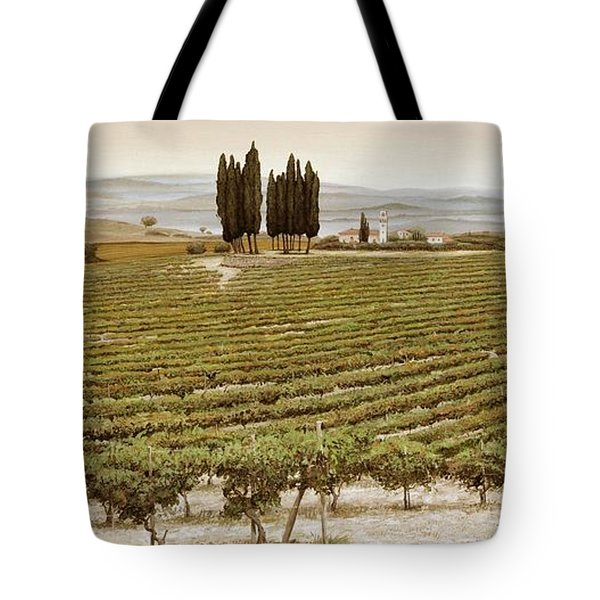 Tree Circle - Tuscany  Tote Bag by Trevor Neal