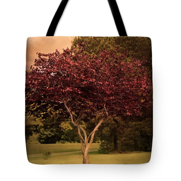 Tree Of Love Tote Bag by Jai Johnson
