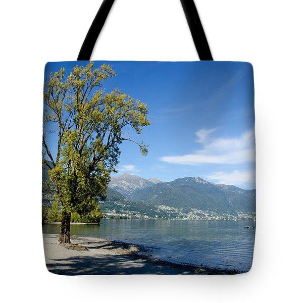 Tree On The Beach Tote Bag