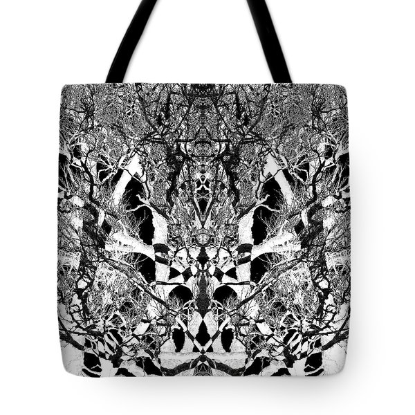 Tree Patterns Tote Bag by Michele Cornelius