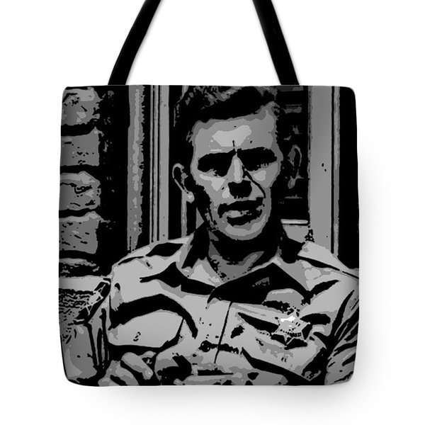 Tribute To Andy Tote Bag by George Pedro