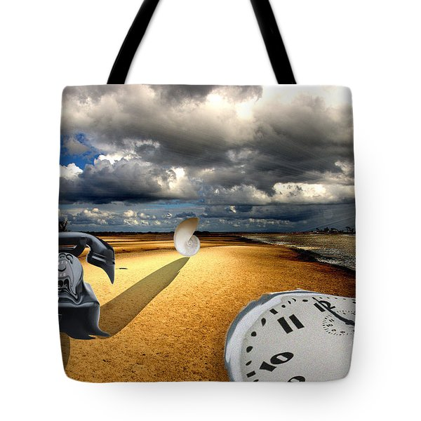 Tribute To Dali Tote Bag