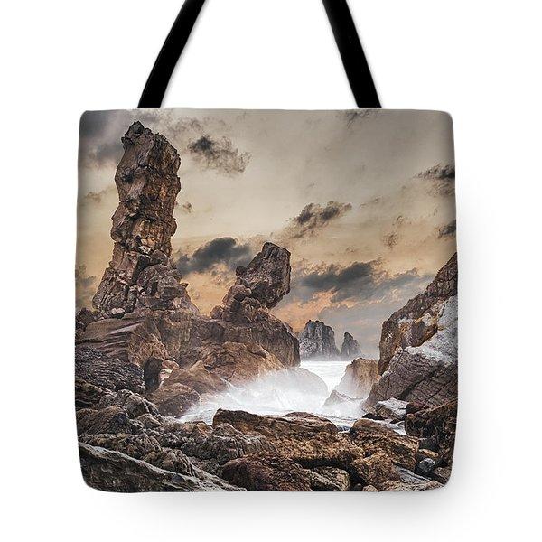 Trident Tote Bag by Evgeni Dinev