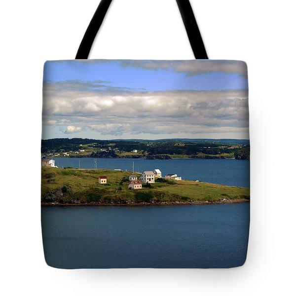 Trinity Bay Tote Bag by Leanna Lomanski