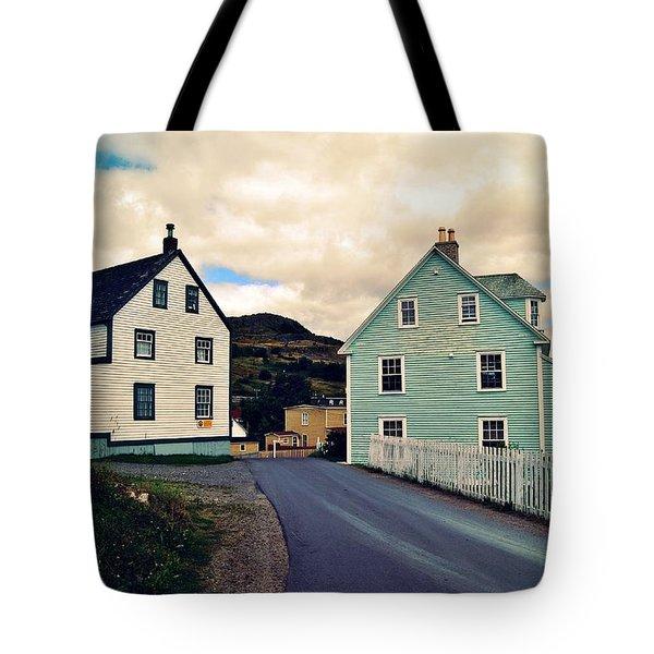 Trinity I Tote Bag by Leanna Lomanski