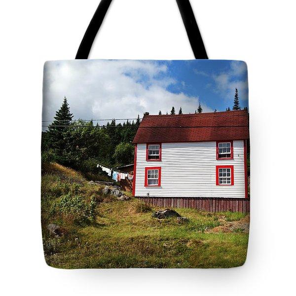 Trinity Road Laundry Tote Bag by Leanna Lomanski