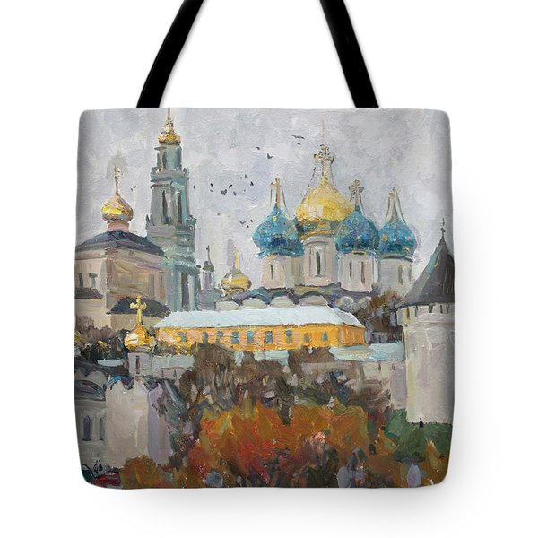 Trinity-st. Sergius Lavra Tote Bag