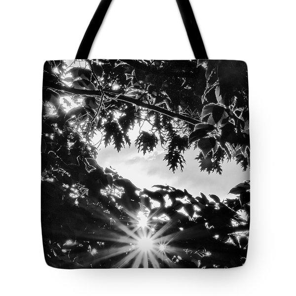 Triple Bluff Tote Bag by Nathan Larson