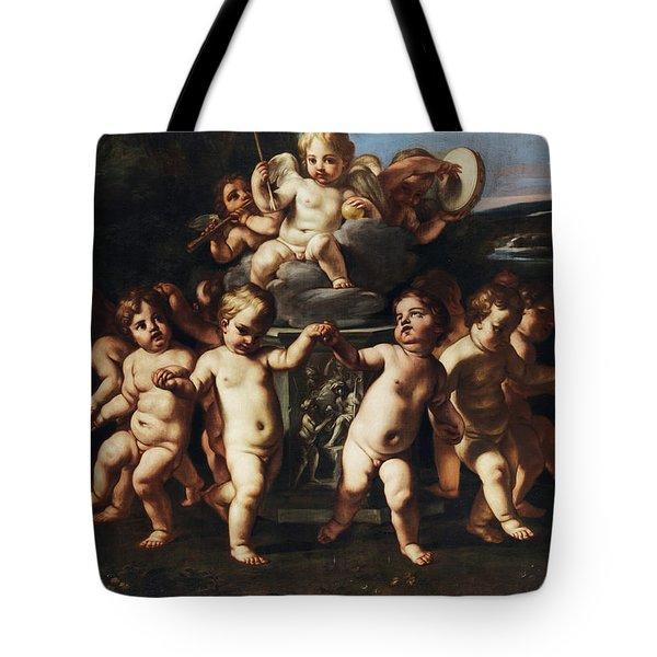 Triumph Of Cupid Tote Bag