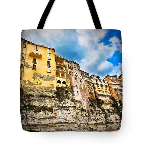 Tropea Houses Tote Bag