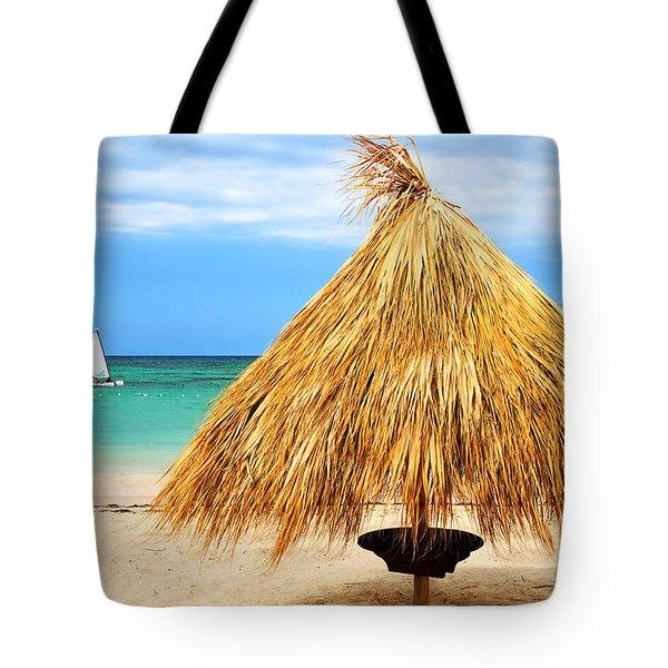 Tropical Beach Tote Bag by Elena Elisseeva