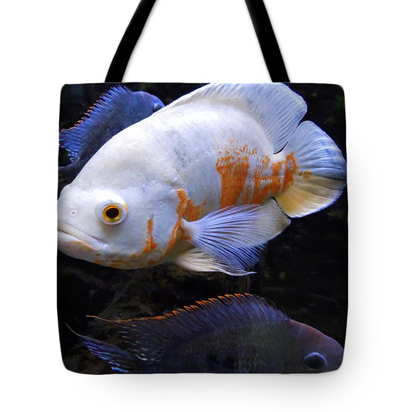 Tropical Fish  Tote Bag by Colette V Hera  Guggenheim
