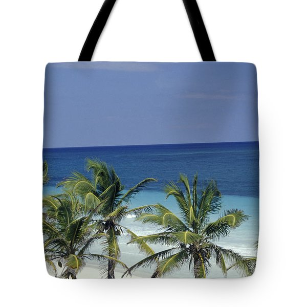 Tropical Paradise Sian Kaan Mexico Tote Bag