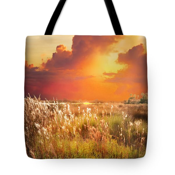 Tropical Savannah Tote Bag
