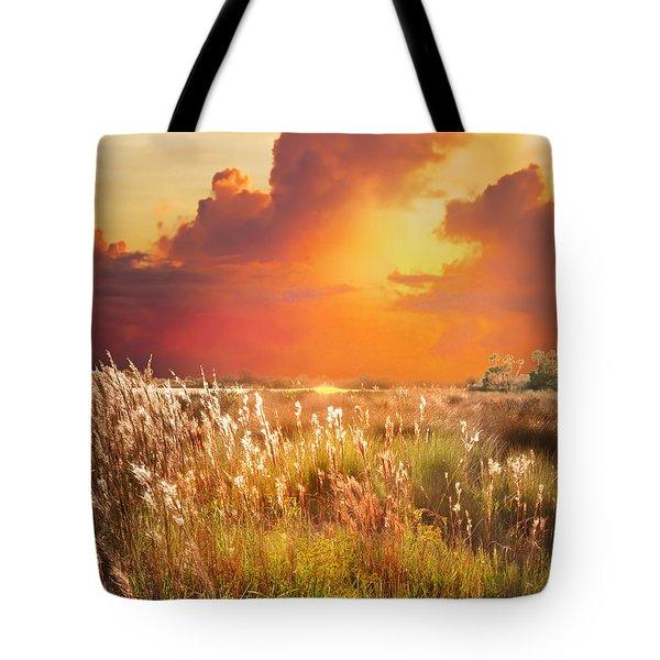 Tropical Savannah Tote Bag by Francesa Miller