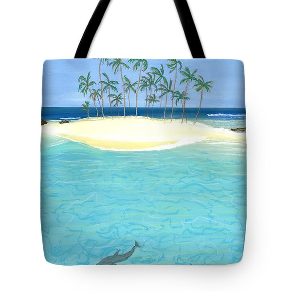 Tropical Tranquility  Tote Bag by Jackie Novak
