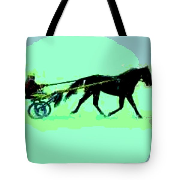 Tote Bag featuring the photograph Trotter by George Pedro