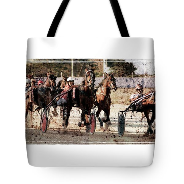 Tote Bag featuring the photograph Trotting 3 by Pedro Cardona