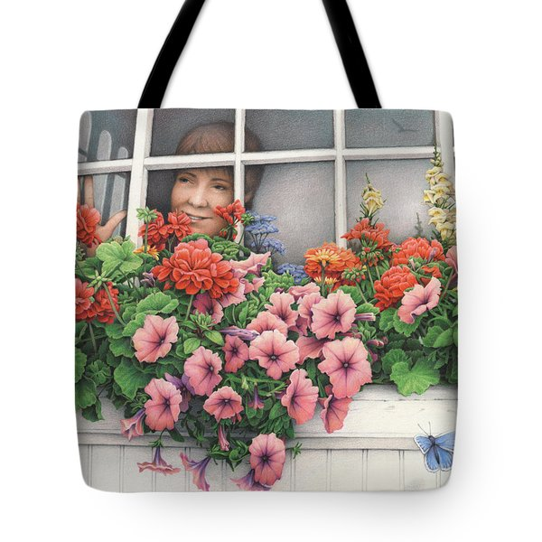 True Colors Shining Through Tote Bag by Amy S Turner