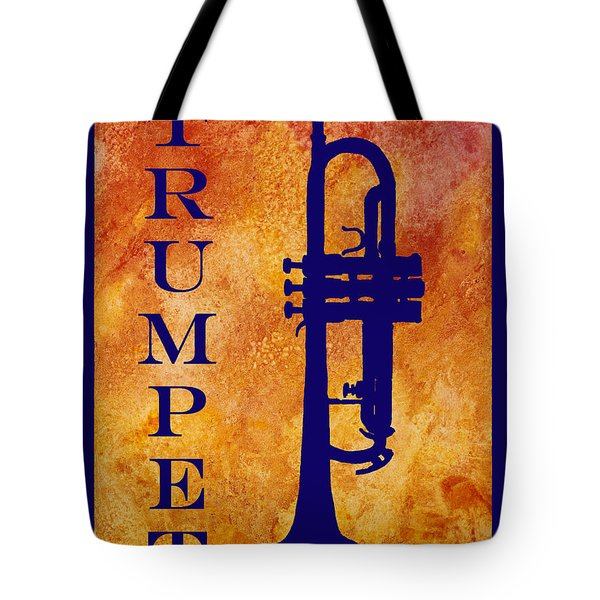 Trumpet Tote Bag by Jenny Armitage