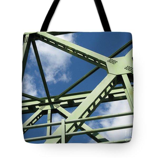 Truss Tote Bag by Arlene Carmel
