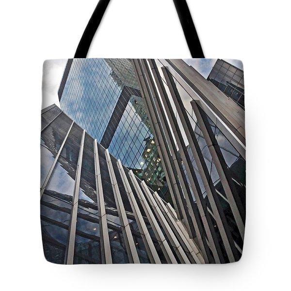 Trylon Towers Tote Bag