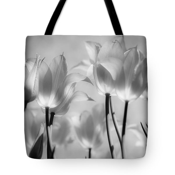Tote Bag featuring the photograph Tulips Glow by Michelle Joseph-Long
