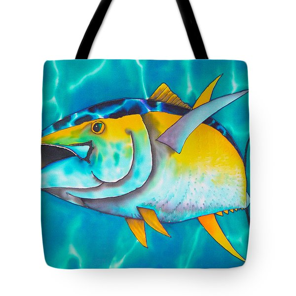 Tuna Tote Bag by Daniel Jean-Baptiste