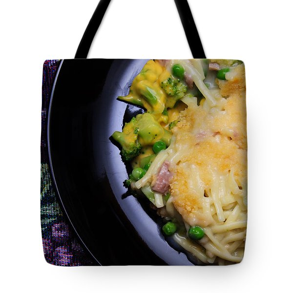Tuna Noodle Casserole Tote Bag by Andee Design