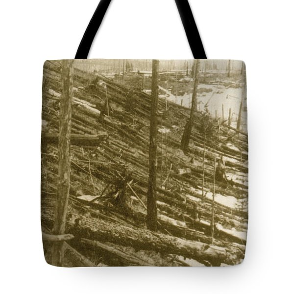 Tunguska Event, 1908 Tote Bag by Science Source