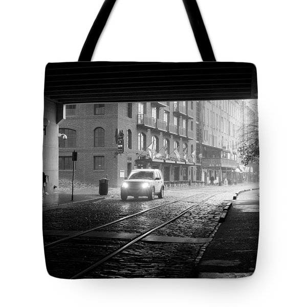 Tunnel I Tote Bag by Lynn Palmer