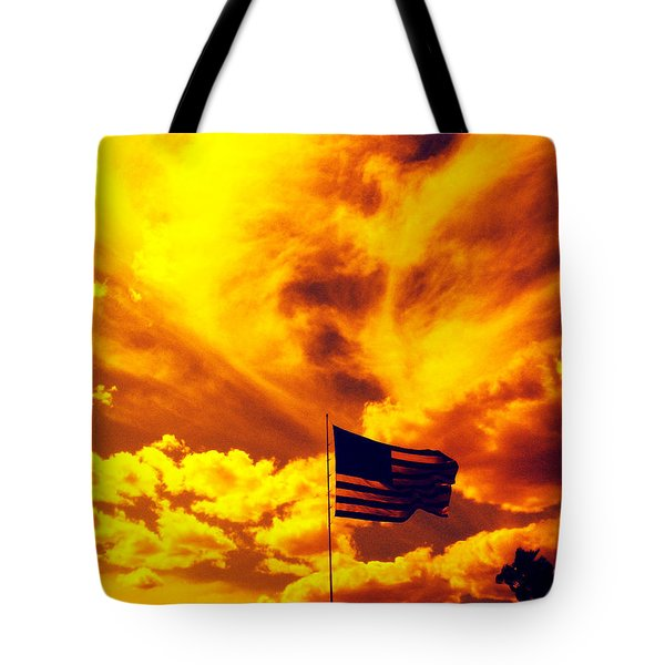 Turbulant America Tote Bag