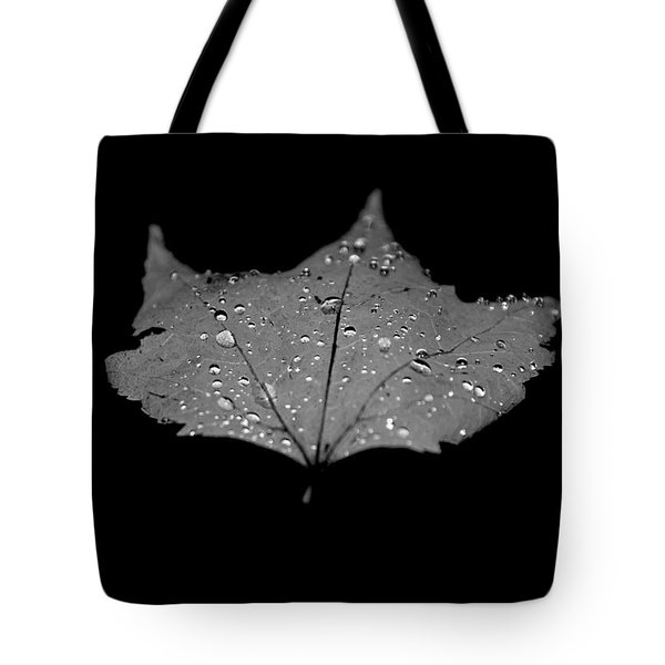 Turn Over A New Leaf Tote Bag by Betsy Knapp