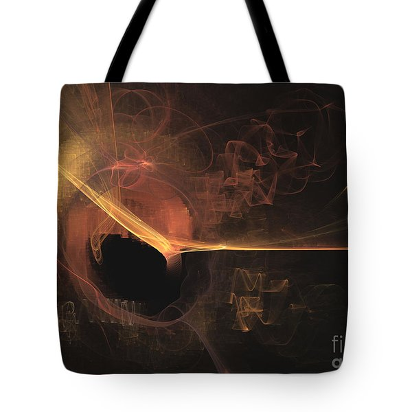Turning Point - Abstract Art Tote Bag