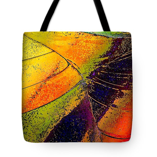 Tote Bag featuring the photograph Turning Purple  by David Pantuso
