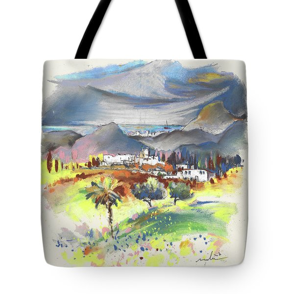 Turre In Spain 03 Tote Bag by Miki De Goodaboom
