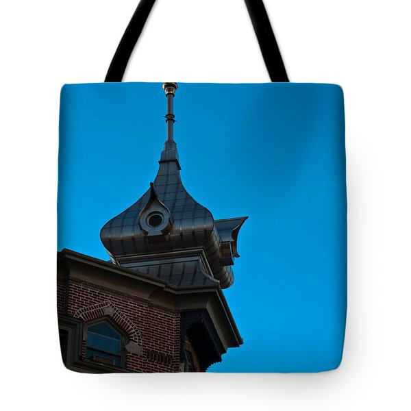 Tote Bag featuring the photograph Turret At Tampa Bay Hotel by Ed Gleichman