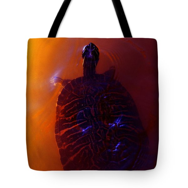 Turtle In Florida  Tote Bag