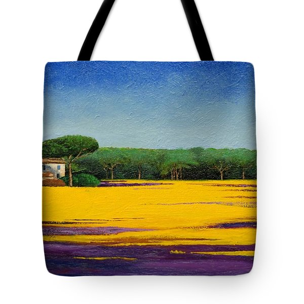 Tuscan Landcape Tote Bag by Trevor Neal