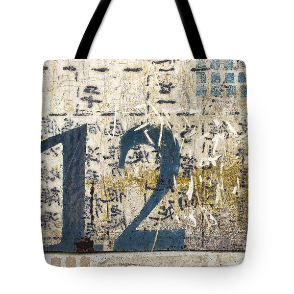 Twelve Left Tote Bag by Carol Leigh
