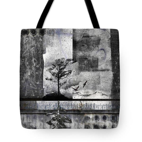 Twelve Moons Tote Bag by Carol Leigh