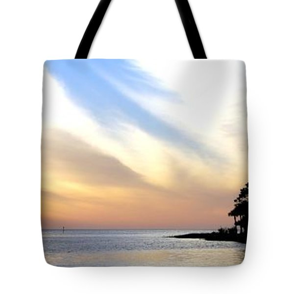 Twilight On The Gulf Tote Bag